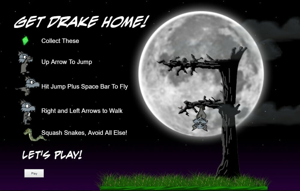 Get Drake Home! an Outer Field-Themed Game!